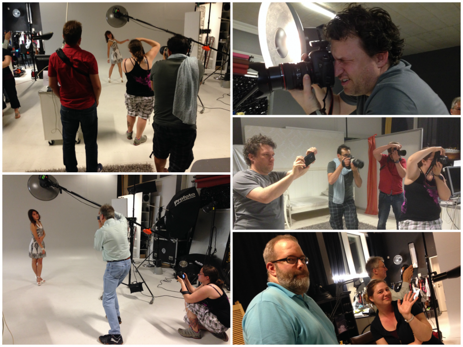 Behind the scenes Afterwork Shooting 22.05.2014